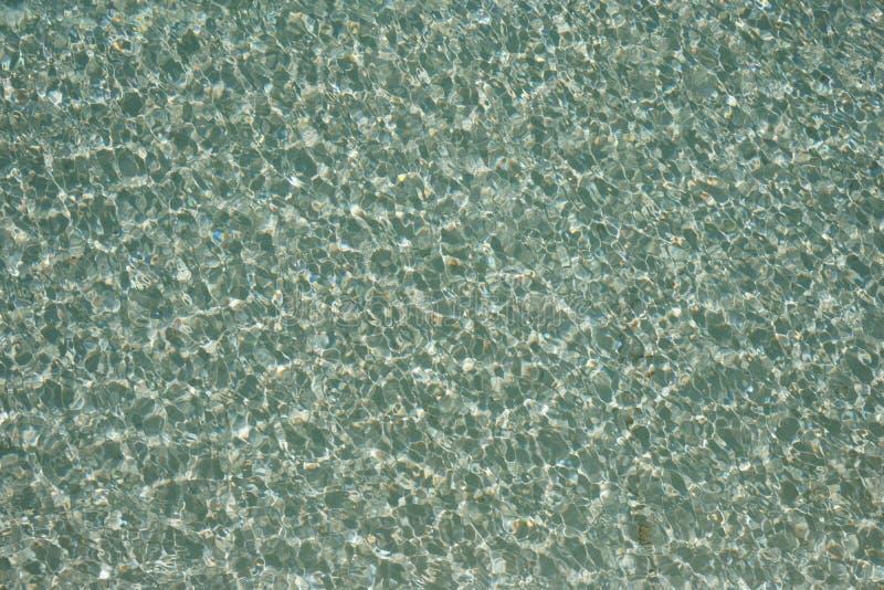 Вода в бассейне, текстура воды стоковые фото