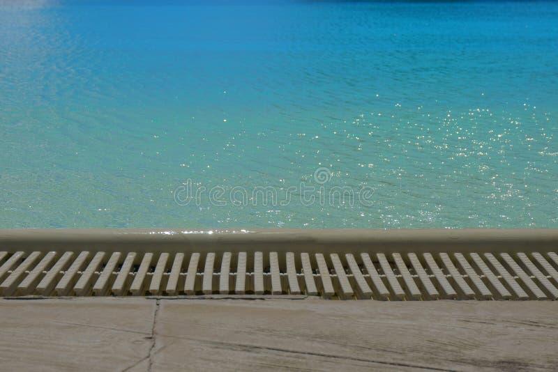 Вода в бассейне, текстура воды стоковые изображения rf