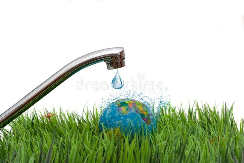 Вода жизн-источник земли стоковая фотография