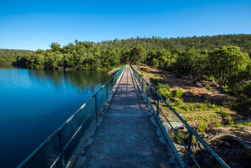 Вода и земля стоковая фотография
