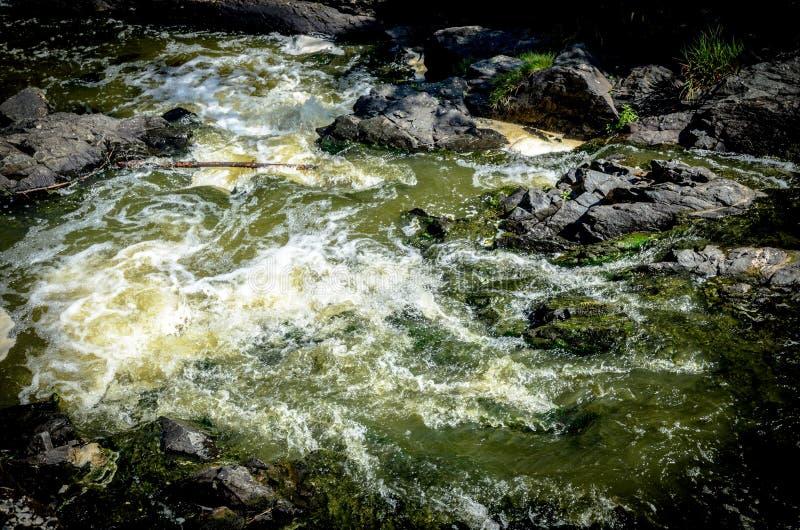 Вода и утесы стоковые фотографии rf