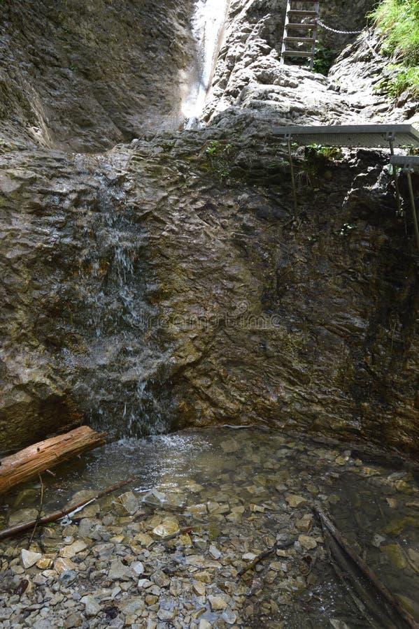 Вода и утесы стоковое изображение rf