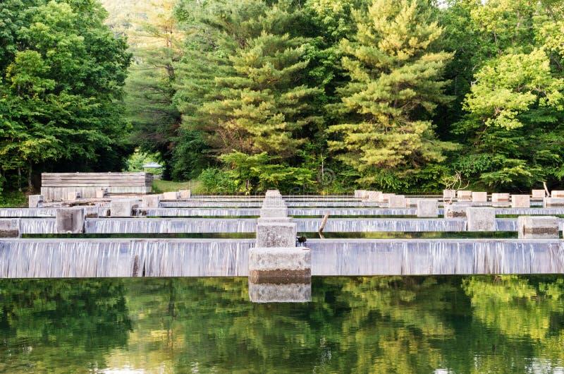 Вода над замками 3 стоковое изображение