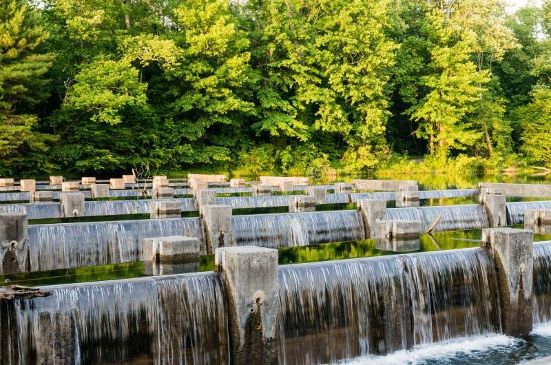 Вода над замками 4 стоковая фотография
