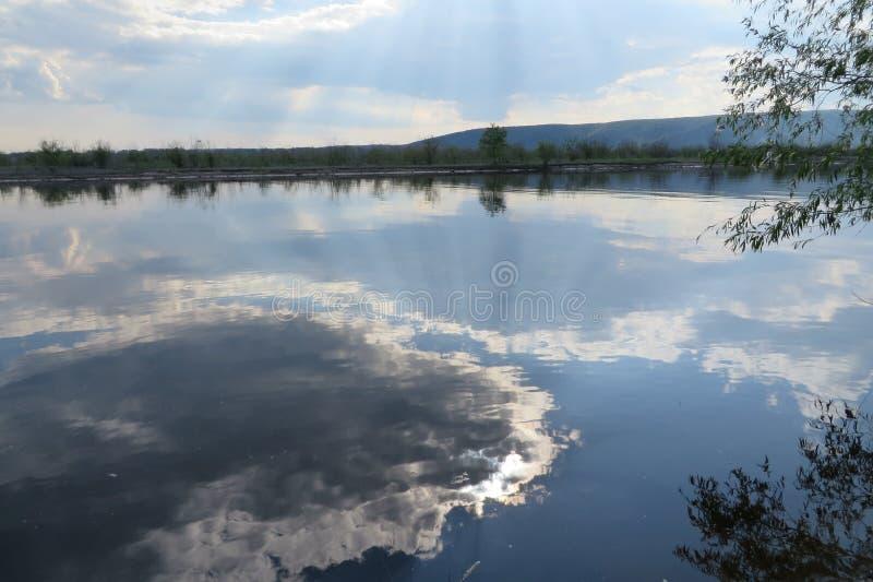 Вода облака стоковые фотографии rf