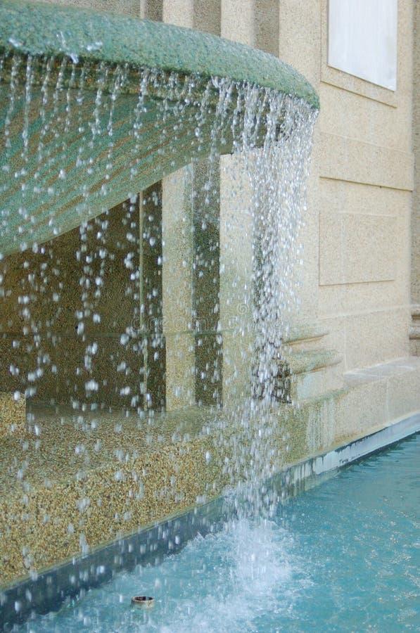 Вода от фонтана стоковые фотографии rf