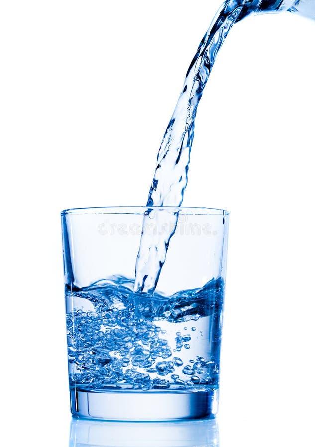 вода политая стеклом стоковые изображения