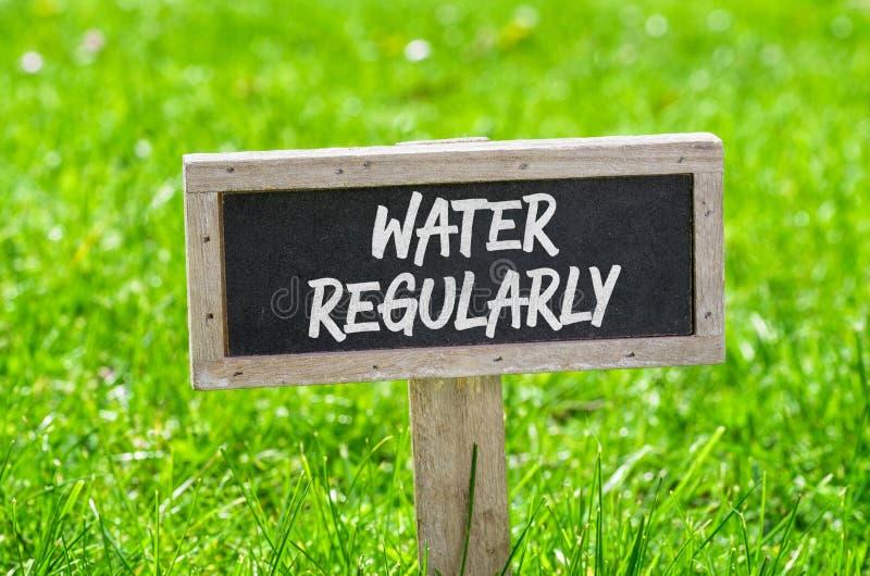 Вода регулярно стоковое изображение