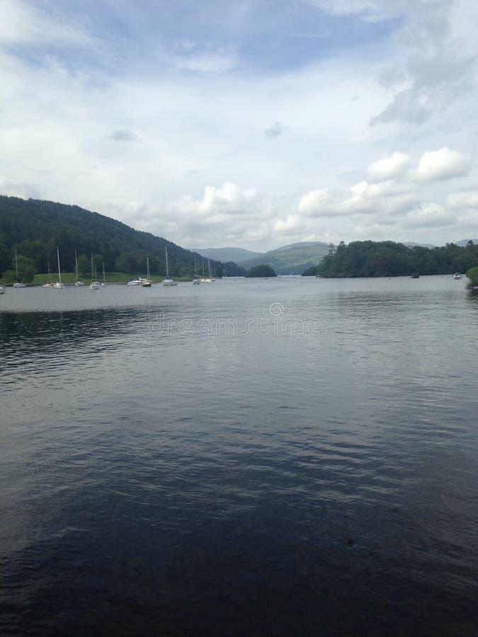 Вода Carsington стоковая фотография