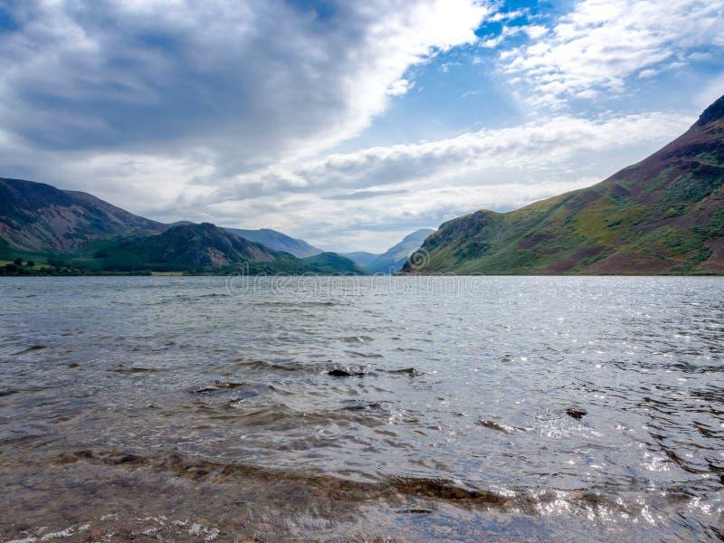 Вода Ennerdale стоковое изображение