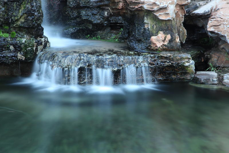 Вода Rockery стоковая фотография