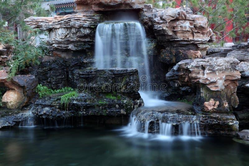 Вода Rockery стоковые фотографии rf