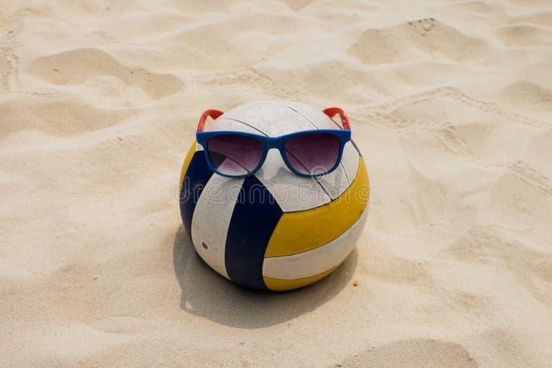 Волейбол на пляже лета стоковые фото