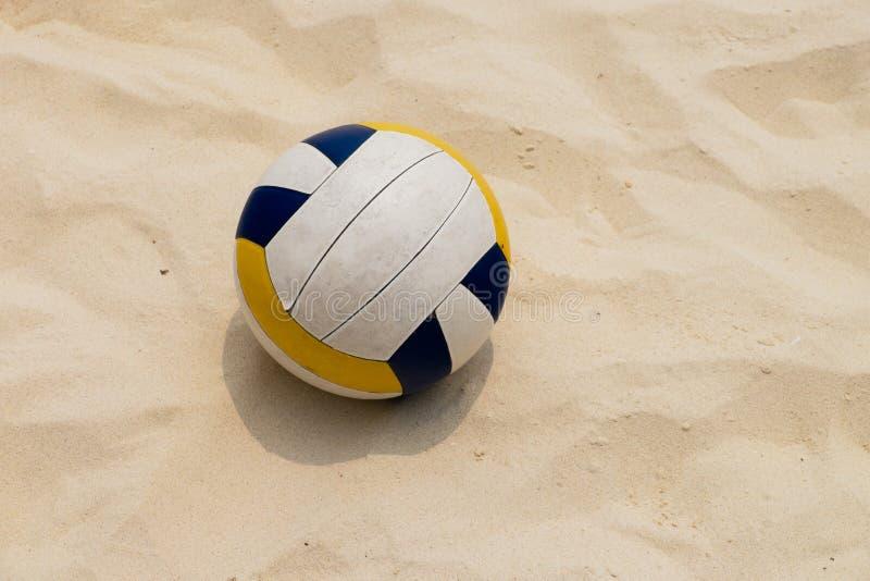 Волейбол на пляже лета стоковая фотография
