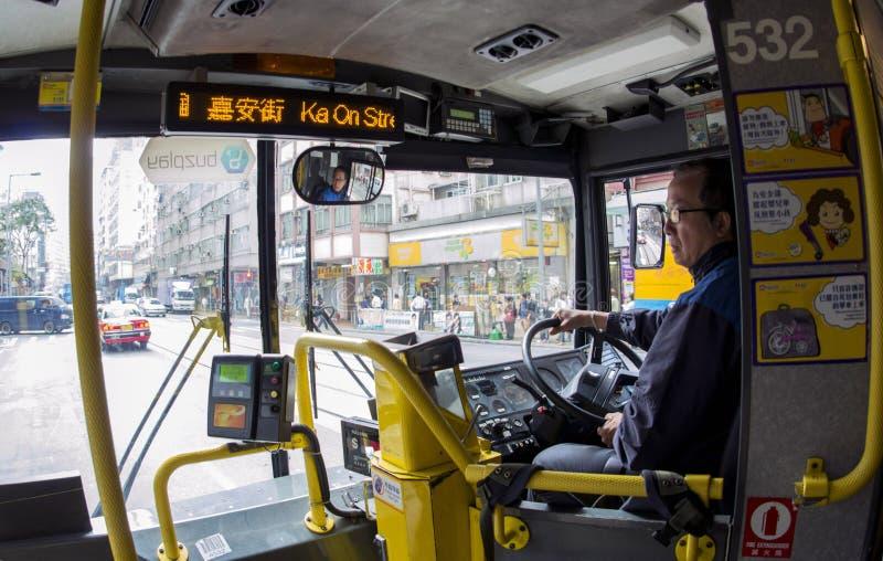 Водитель автобуса стоковое изображение