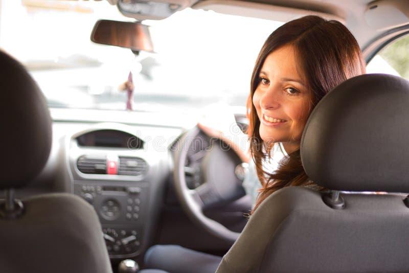 водитель счастливый стоковые изображения rf