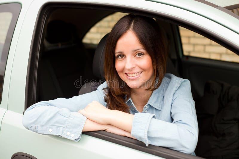 водитель счастливый стоковые фото