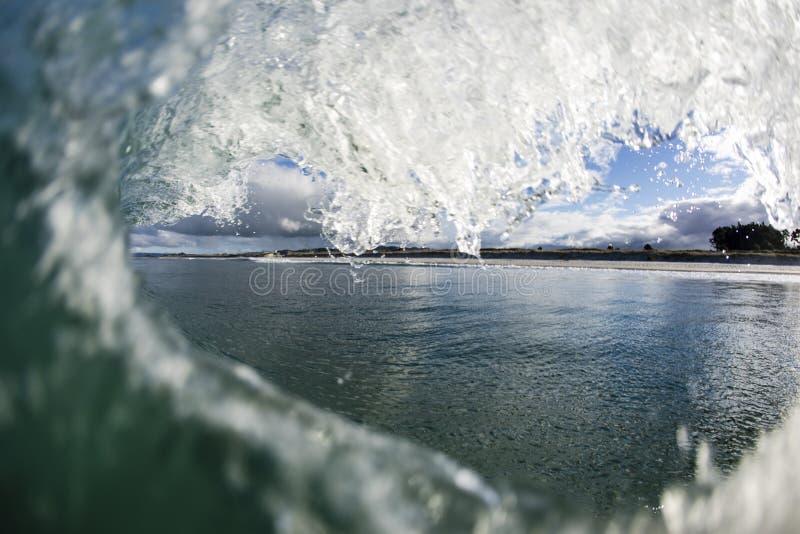 Волна валентинок, NZ стоковые фото