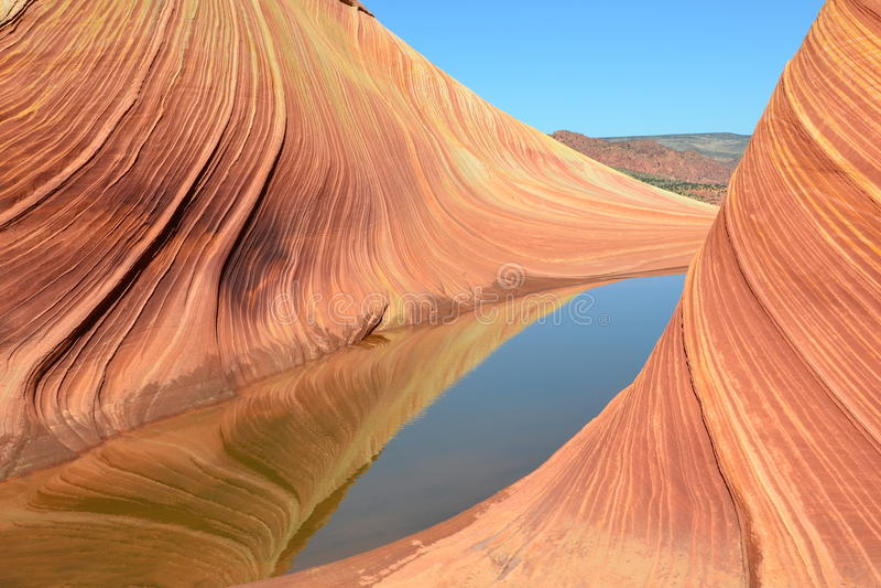 Волна на Аризоне (43) стоковая фотография rf