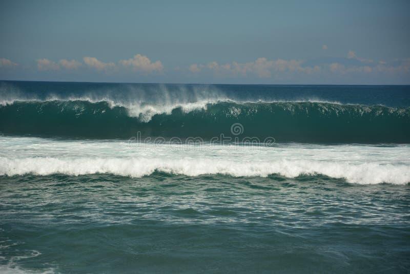 Волна пляжа Balangan стоковая фотография rf
