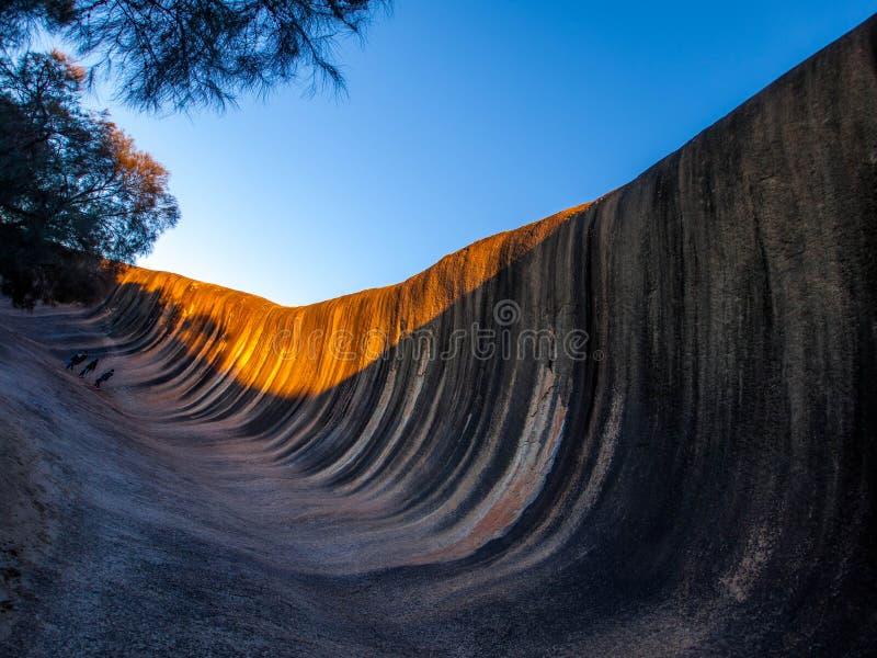волна утеса Австралии западная стоковая фотография rf