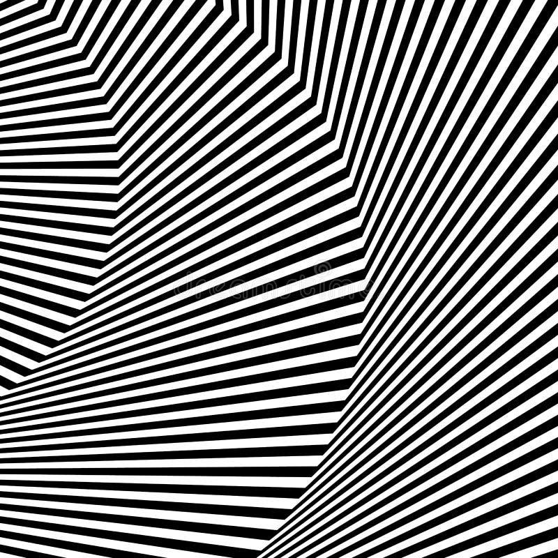 Download Волнистый, зигзаг выравнивается, выравнивается с искажением, заломом Monochrome PA Иллюстрация вектора - иллюстрации насчитывающей lineal, черный: 81812143