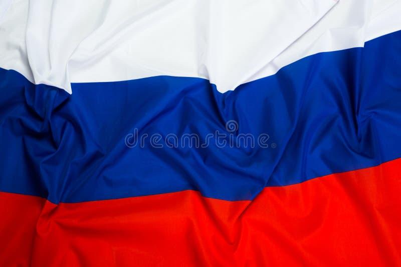 волнистый флаг России стоковое фото rf