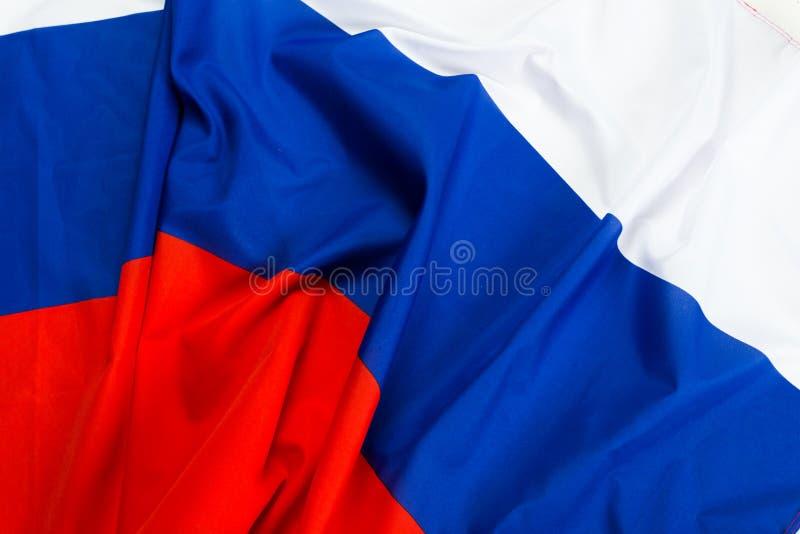 волнистый флаг России стоковая фотография rf