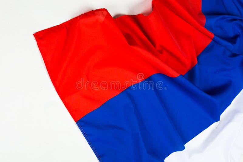 волнистый флаг России стоковое фото