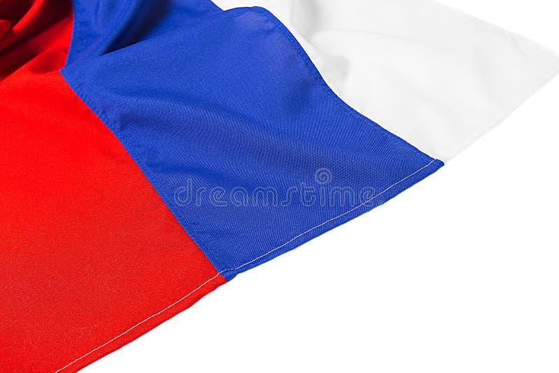 волнистый флаг России стоковое изображение rf