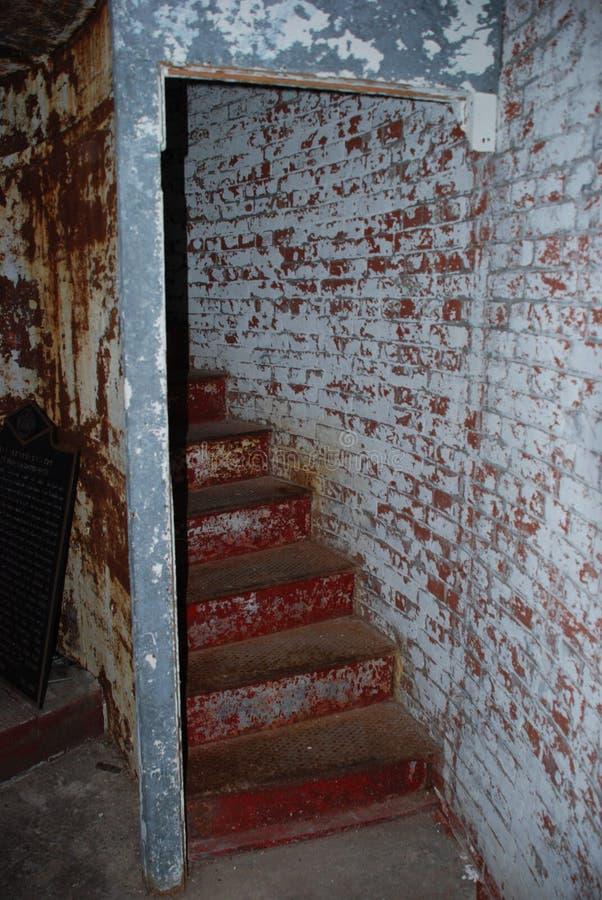 Волнорезы маяк лестницы, Lewes, Делавер стоковые изображения rf