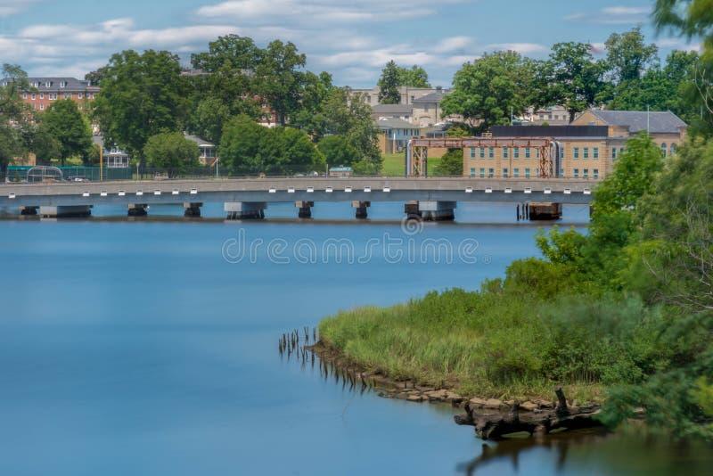 Водные пути & мосты стоковое изображение rf