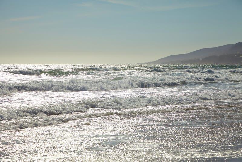 Волны в океане стоковое изображение rf