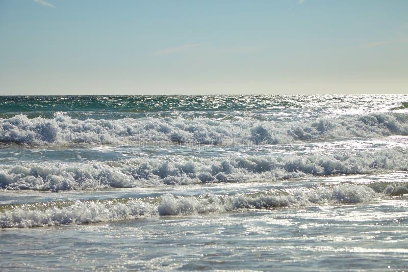 Волны в океане стоковая фотография rf