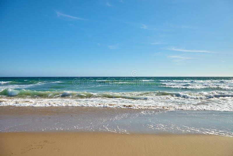 Волны в океане стоковые фотографии rf