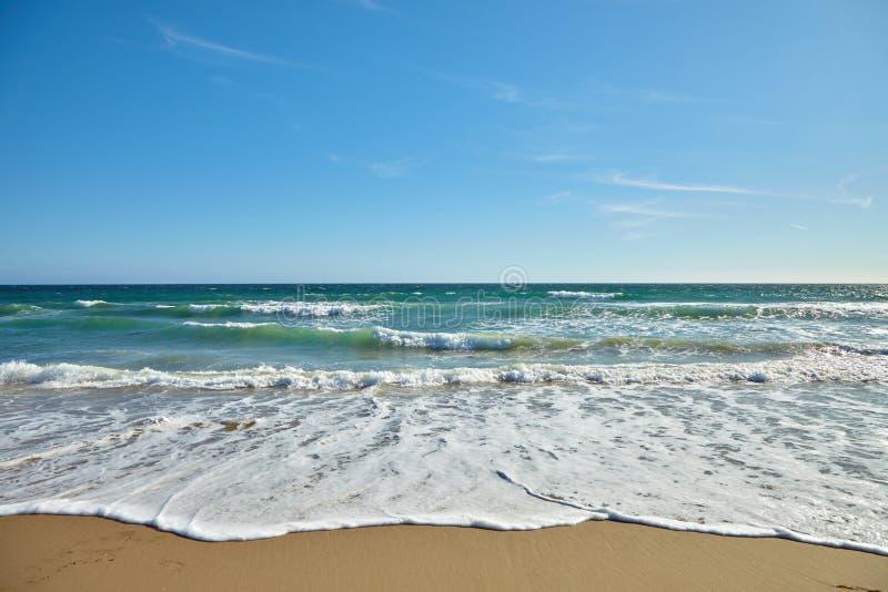 Волны в океане стоковая фотография