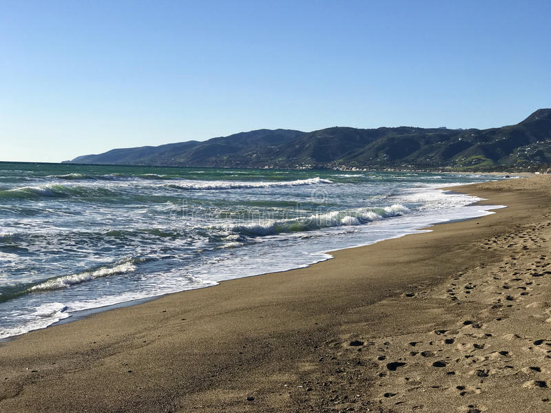 Волны в океане стоковые фото