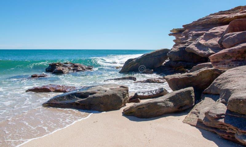 Волны завальцовки стоковое изображение