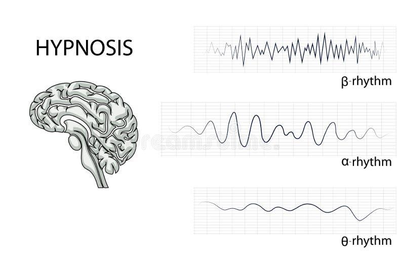 Волны мозга электрические бесплатная иллюстрация