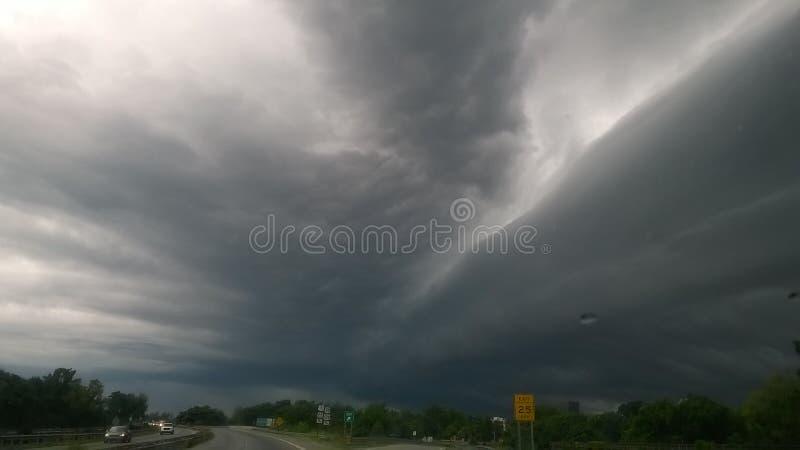 Волны неба стоковое фото
