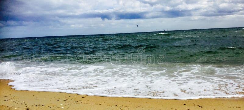 Волны Aqua стоковое фото rf
