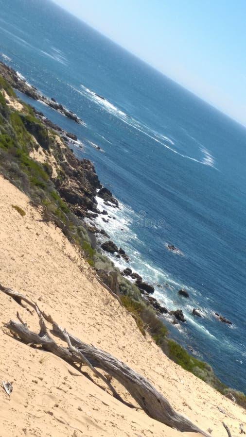 Волны n пляжа стоковые изображения rf