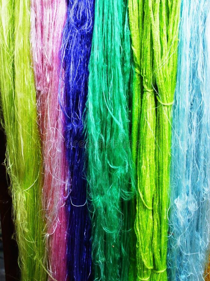 волокна silk стоковые изображения