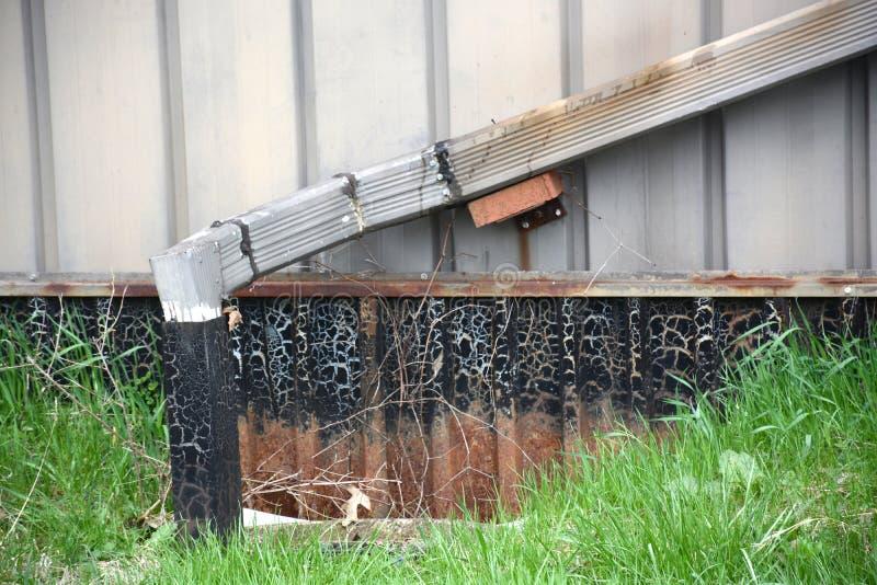 Водоотводная труба стоковые фотографии rf