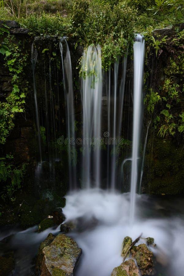 Водопад в Крите стоковое фото rf