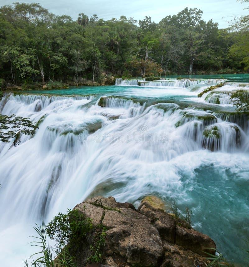 Водопад в Мексике стоковая фотография