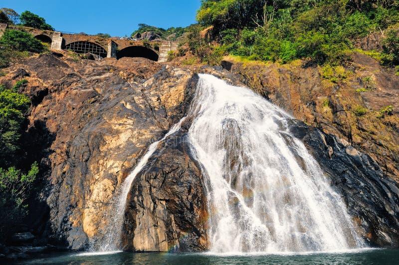 Водопад в Goa стоковые фото