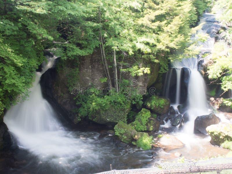 Download Водопад в Niko, Японии стоковое фото. изображение насчитывающей над - 81806024