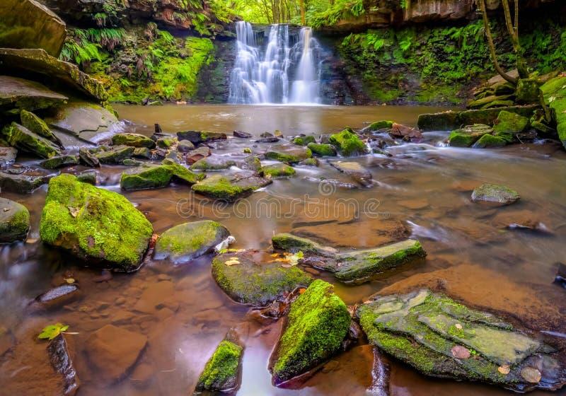Водопад запаса Goit стоковая фотография rf