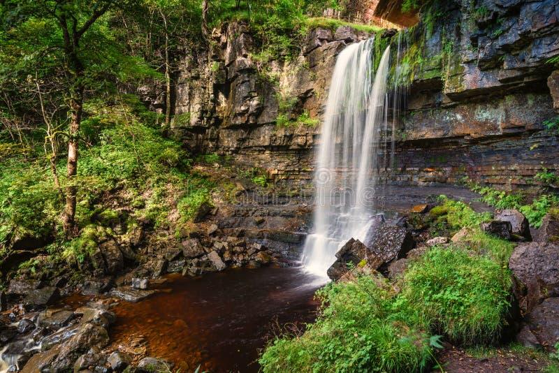 Водопад на Ashgill стоковое изображение rf
